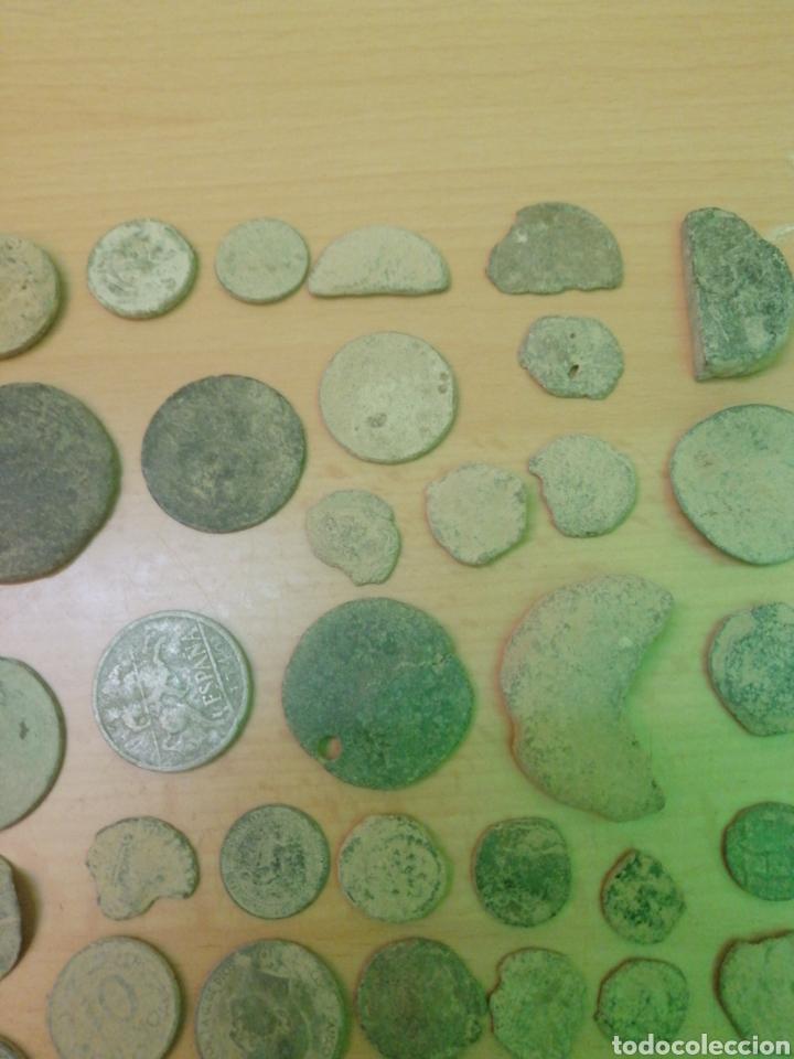 Monedas antiguas: LOTE DE 53 MONEDAS VARIADAS - Foto 3 - 205069673