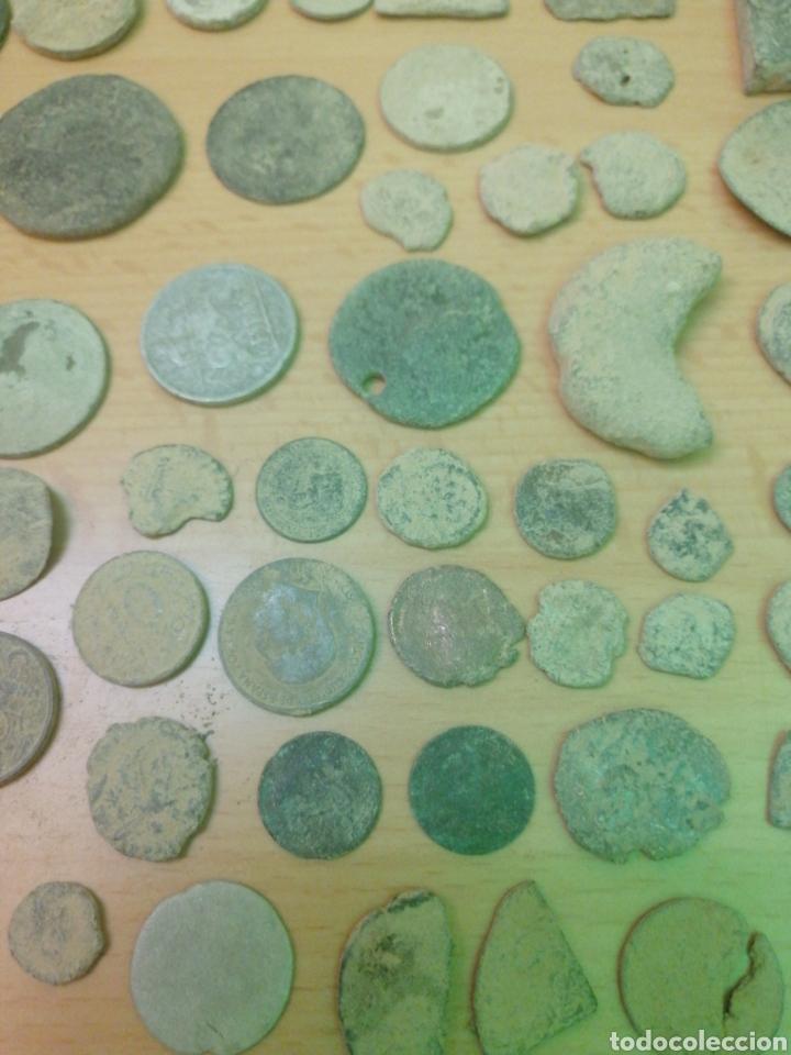 Monedas antiguas: LOTE DE 53 MONEDAS VARIADAS - Foto 5 - 205069673