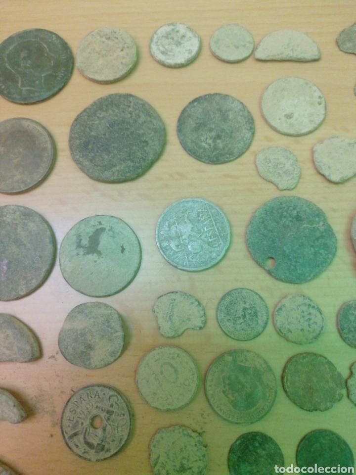 Monedas antiguas: LOTE DE 53 MONEDAS VARIADAS - Foto 8 - 205069673