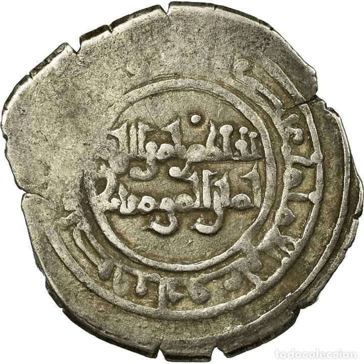 MONEDA, FATIMIDS, AL-HAKIM, FRACTIONAL DIRHAM, AL-MAHDIYA, BC+, PLATA (Numismática - Periodo Antiguo - Otras)