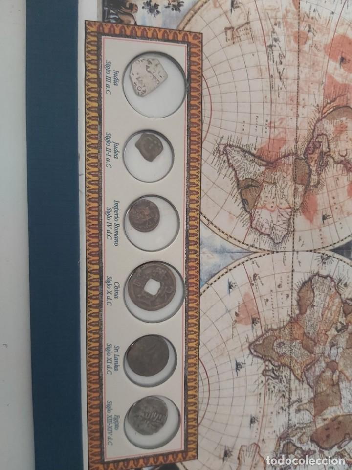 Monedas antiguas: AUTENTICAS MONEDAS DE LAS CIVILIZACIONES DESAPARECIDAS. EN SU ESTUCHE ORIGINAL. - Foto 3 - 205790250