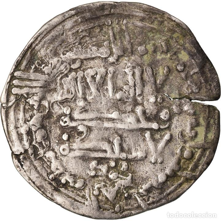 Monedas antiguas: Moneda, Umayyads of Spain, Abd al-Rahman III, Dirham, AH 343 (954/955), Madinat - Foto 1 - 208838982