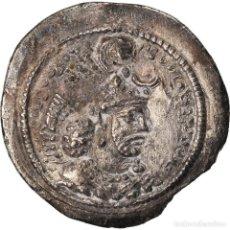 Monedas antiguas: MONEDA, SASANIAN KINGS, YAZDGARD I, DRACHM, AS (ASPAHAN), MBC, PLATA. Lote 208842361