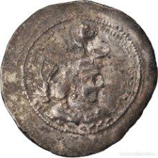 Monedas antiguas: MONEDA, SASANIAN KINGS, YAZDGARD I, DRACHM, BC+, PLATA. Lote 208843158