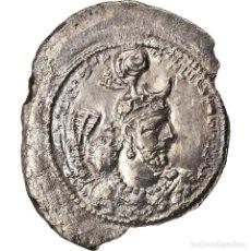 Monedas antiguas: MONEDA, SASANIAN KINGS, YAZDGARD I, DRACHM, MBC, PLATA. Lote 208843333