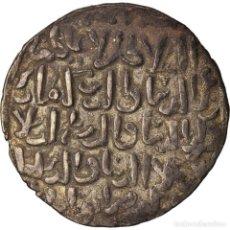 Monedas antiguas: MONEDA, SELJUQS, KAYKA'US II, DIRHAM, AH 652 (1254), KONYA, MBC, PLATA. Lote 208845532