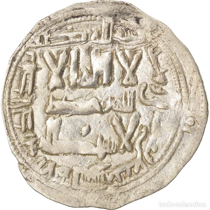 Monedas antiguas: Moneda, Umayyads of Spain, Abd al-Rahman II, Dirham, AH 227 (841/842) - Foto 1 - 208854137