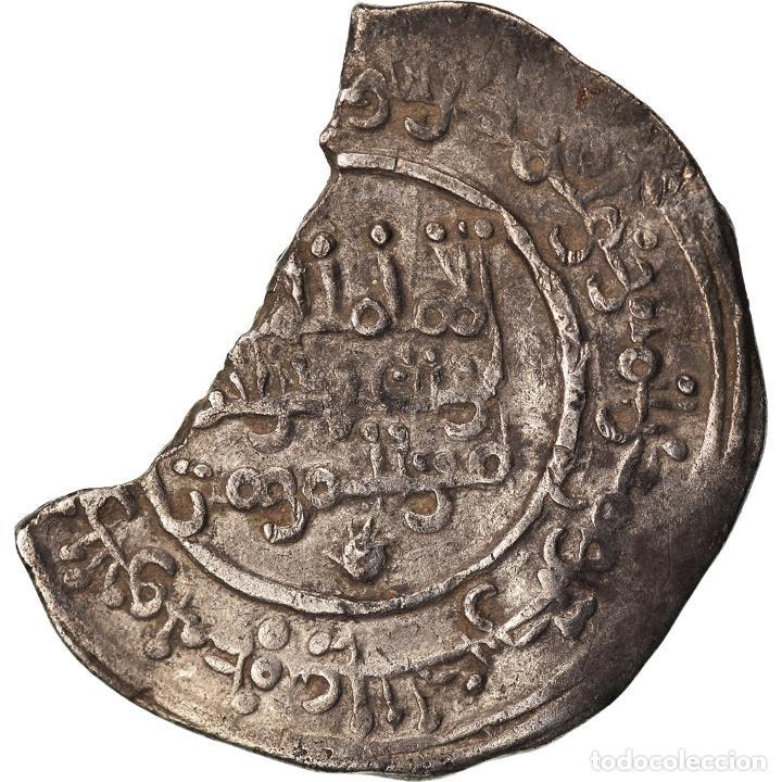 Monedas antiguas: Moneda, Umayyads of Spain, Abd al-Rahman III, Dirham, AH 339 (950/951), Madinat - Foto 2 - 208855198