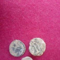 Monedas antiguas: LOTE DE 3 MONEDAS HISPANO-ARABES. Lote 213898875