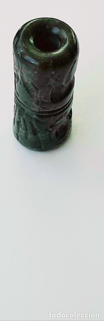 Monedas antiguas: Cilindro-Sello Akkadio. Akkadian Cylinder-Seal. Circa 2300-2200 a.c. Mesopotamia - Foto 6 - 217178847