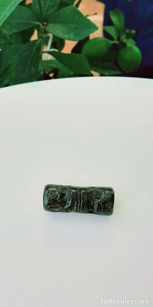 Monedas antiguas: Cilindro-Sello Akkadio. Akkadian Cylinder-Seal. Circa 2300-2200 a.c. Mesopotamia - Foto 7 - 217178847