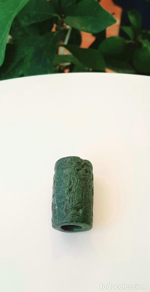 Monedas antiguas: Cilindro-Sello Chipro-Minoico Inscripto. Cypro-Minoan Inscribed Cylinder Seal. Circa 1400-1375 a.c. - Foto 12 - 217178527