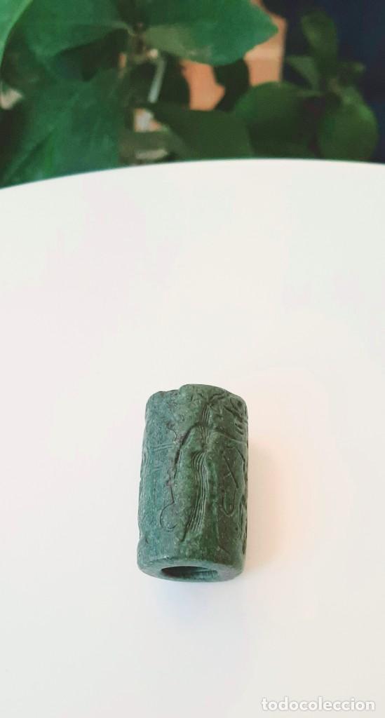 Monedas antiguas: Cilindro-Sello Chipro-Minoico Inscripto. Cypro-Minoan Inscribed Cylinder Seal. Circa 1400-1375 a.c. - Foto 20 - 217178527