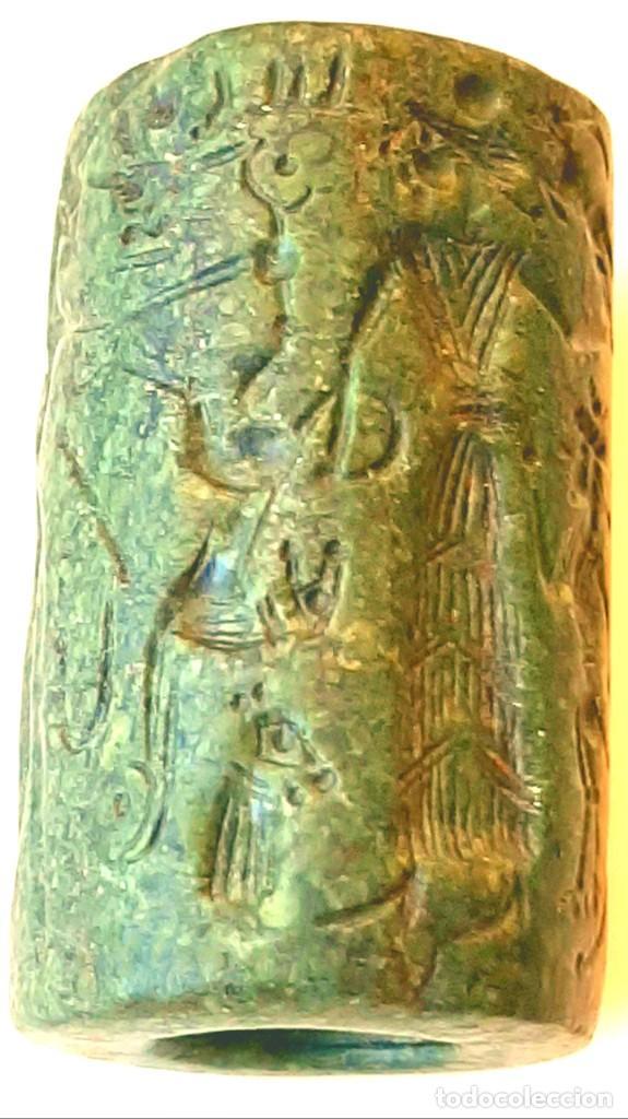 Monedas antiguas: Cilindro-Sello Chipro-Minoico Inscripto. Cypro-Minoan Inscribed Cylinder Seal. Circa 1400-1375 a.c. - Foto 22 - 217178527