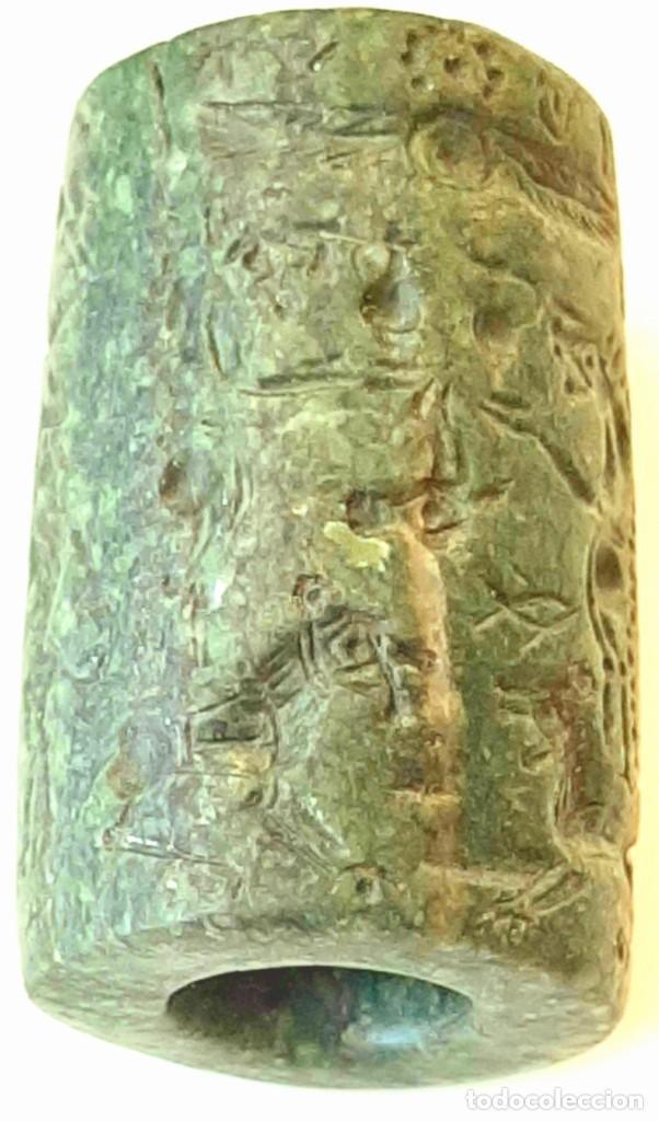 Monedas antiguas: Cilindro-Sello Chipro-Minoico Inscripto. Cypro-Minoan Inscribed Cylinder Seal. Circa 1400-1375 a.c. - Foto 25 - 217178527