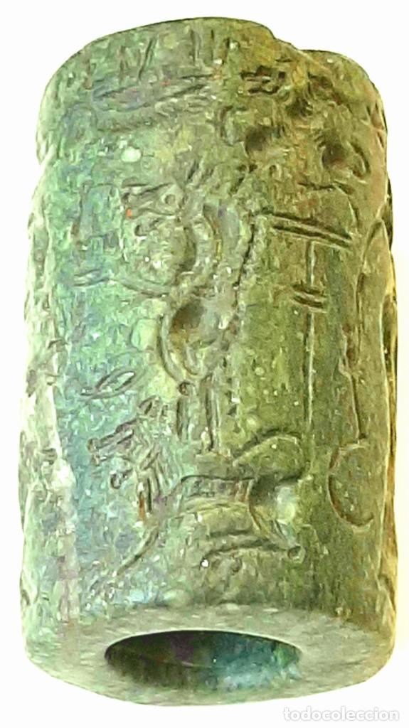 Monedas antiguas: Cilindro-Sello Chipro-Minoico Inscripto. Cypro-Minoan Inscribed Cylinder Seal. Circa 1400-1375 a.c. - Foto 26 - 217178527