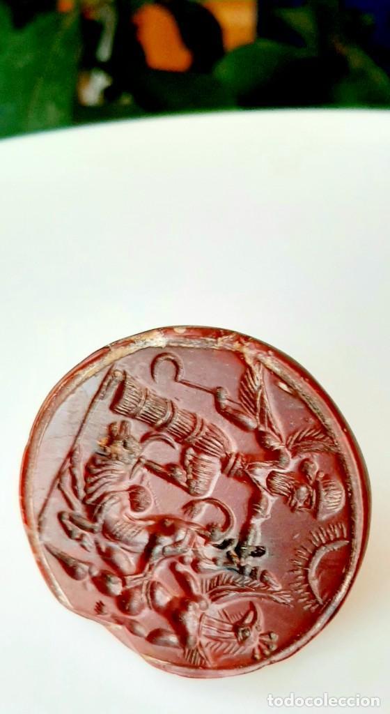 Monedas antiguas: Matriz-Sello Neo-Babilonia. Neo-Babilonian Stamp-Seal. Circa 700-500 a.c. Mesopotamia - Foto 2 - 217178972