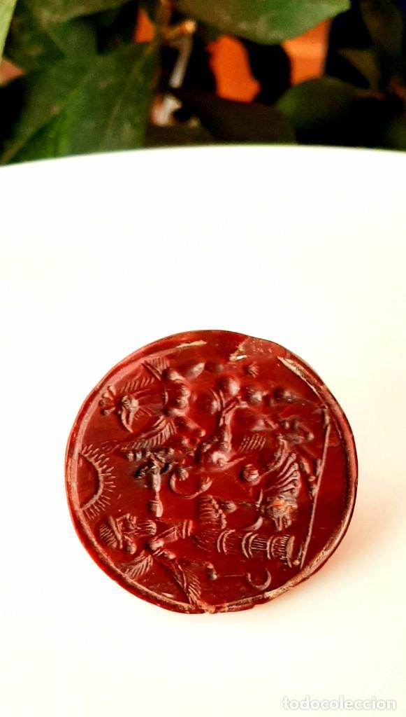 Monedas antiguas: Matriz-Sello Neo-Babilonia. Neo-Babilonian Stamp-Seal. Circa 700-500 a.c. Mesopotamia - Foto 3 - 217178972