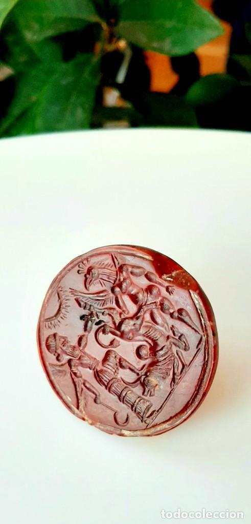 Monedas antiguas: Matriz-Sello Neo-Babilonia. Neo-Babilonian Stamp-Seal. Circa 700-500 a.c. Mesopotamia - Foto 4 - 217178972