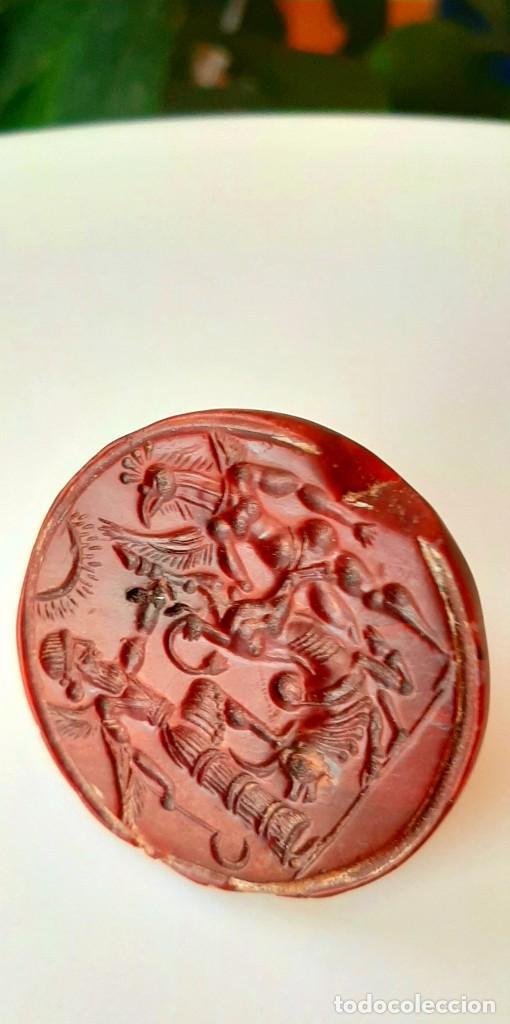 Monedas antiguas: Matriz-Sello Neo-Babilonia. Neo-Babilonian Stamp-Seal. Circa 700-500 a.c. Mesopotamia - Foto 5 - 217178972