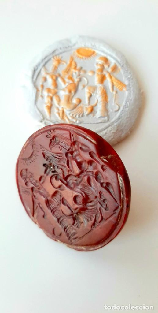 Monedas antiguas: Matriz-Sello Neo-Babilonia. Neo-Babilonian Stamp-Seal. Circa 700-500 a.c. Mesopotamia - Foto 8 - 217178972