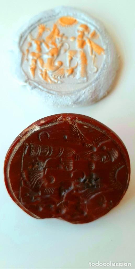 Monedas antiguas: Matriz-Sello Neo-Babilonia. Neo-Babilonian Stamp-Seal. Circa 700-500 a.c. Mesopotamia - Foto 9 - 217178972
