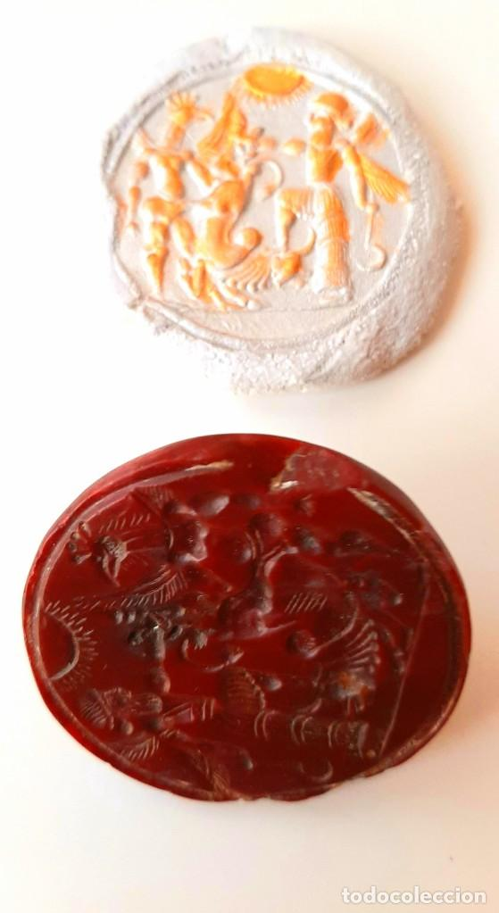 Monedas antiguas: Matriz-Sello Neo-Babilonia. Neo-Babilonian Stamp-Seal. Circa 700-500 a.c. Mesopotamia - Foto 10 - 217178972