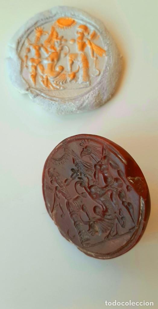 Monedas antiguas: Matriz-Sello Neo-Babilonia. Neo-Babilonian Stamp-Seal. Circa 700-500 a.c. Mesopotamia - Foto 11 - 217178972