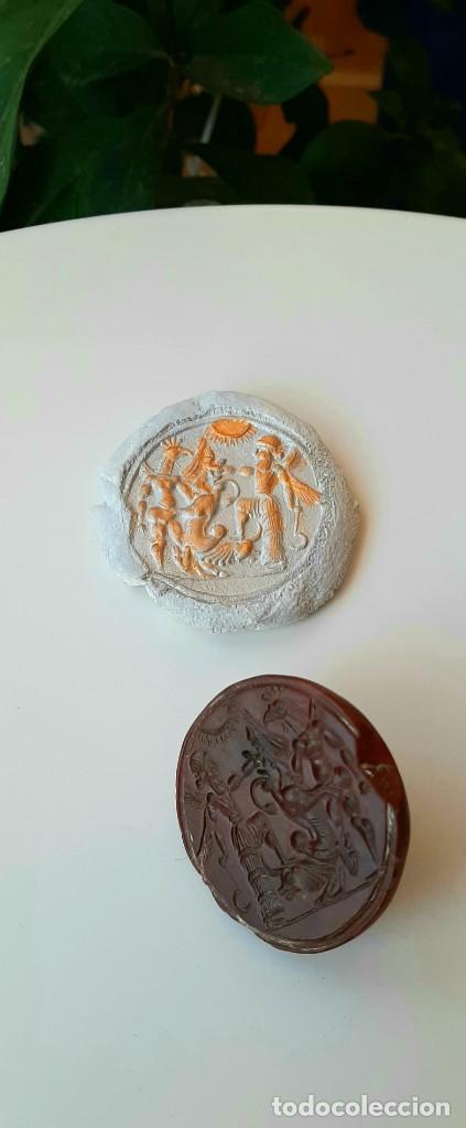 Monedas antiguas: Matriz-Sello Neo-Babilonia. Neo-Babilonian Stamp-Seal. Circa 700-500 a.c. Mesopotamia - Foto 12 - 217178972