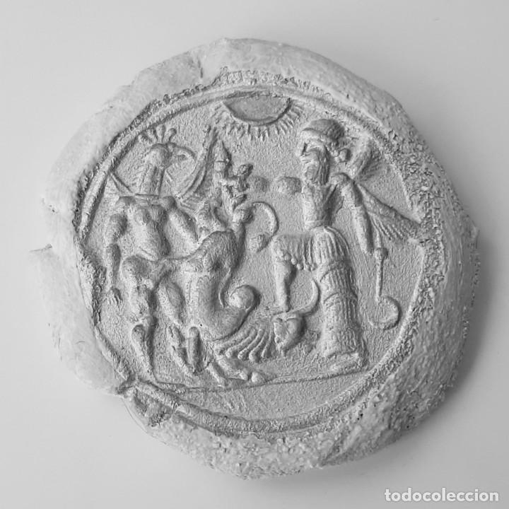 Monedas antiguas: Matriz-Sello Neo-Babilonia. Neo-Babilonian Stamp-Seal. Circa 700-500 a.c. Mesopotamia - Foto 21 - 217178972