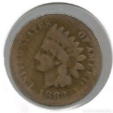 Monedas antiguas: RARE OLD ANTIQUE US 1883 INDIAN HEAD PENNY CENT COLLECTIBLE COLLECTION COIN W20. Lote 218933332