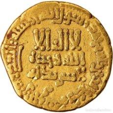 Monedas antiguas: MONEDA, ABBASID CALIPHATE, HARUN AL-RASHID, DINAR, AH 185 (800/801), MISR, MBC. Lote 221850273