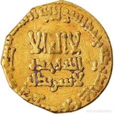 Monedas antiguas: MONEDA, ABBASID CALIPHATE, AL-MANSUR, DINAR, AH 147 (764/765), BC+, ORO. Lote 221850310