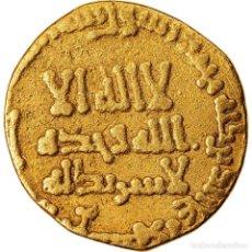 Monedas antiguas: MONEDA, ABBASID CALIPHATE, AL-MANSUR, DINAR, AH 143 (760/761), BC+, ORO. Lote 221850315