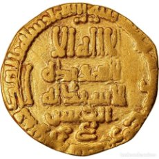Monedas antiguas: MONEDA, ABBASID CALIPHATE, AL-MA?MUN, DINAR, AH 200 (815/816), BC+, ORO. Lote 221850361