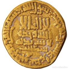 Monedas antiguas: MONEDA, ABBASID CALIPHATE, AL-MA?MUN, DINAR, AH 198 (813/814), BC+, ORO. Lote 221850448