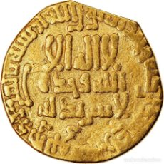 Monedas antiguas: MONEDA, ABBASID CALIPHATE, AL-AMIN, DINAR, AH 195 (810/811), MBC, ORO. Lote 221850450