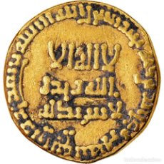 Monedas antiguas: MONEDA, ABBASID CALIPHATE, AL-MAHDI, DINAR, AH 159 (775/776), MBC, ORO. Lote 221850561