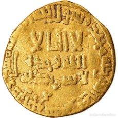 Monedas antiguas: MONEDA, ABBASID CALIPHATE, AL-MAHDI, DINAR, AH 167 (783/784), BC+, ORO. Lote 221850851