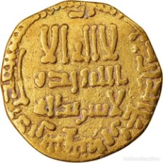 Monedas antiguas: MONEDA, ABBASID CALIPHATE, AL-MAHDI, DINAR, AH 158 (774/775), BC+, ORO. Lote 221851075