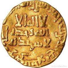 Monedas antiguas: MONEDA, ABBASID CALIPHATE, AL-MANSUR, DINAR, AH 156 (772/773), BC+, ORO. Lote 221851127