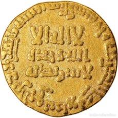 Monedas antiguas: MONEDA, ABBASID CALIPHATE, AL-MANSUR, DINAR, AH 155 (771/772 AD), MBC, ORO. Lote 221851193