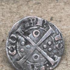 Monedas antiguas: MONEDA DE PLATA 1 DINERO JAUME II. BARCELONA. COBRE.,SIGLO XV XVI. Lote 235055750