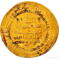 Monedas antiguas: MONEDA, ABBASID CALIPHATE, AL-MUQTADIR, DINAR, AH 303 (915/916), MISR, MBC, ORO. Lote 244016570