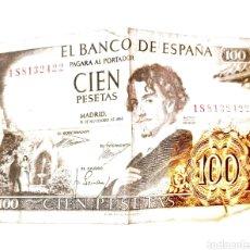 Monedas antiguas: BILLETE DE 100 PTAS. Lote 246176730