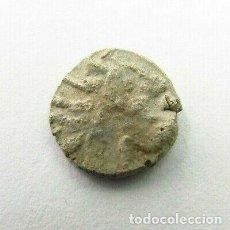 Monedas antiguas: RARA MONEDA CELTA DE PLATA PESA 0,9 GRAMOS. Lote 246792240