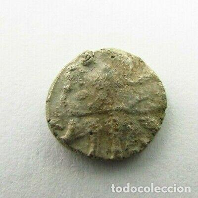 Monedas antiguas: RARA MONEDA CELTA DE PLATA PESA 0,9 GRAMOS - Foto 4 - 246792240