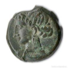Monedas antiguas: ZEUGITANIA CARTHAGO CARTAGO SICILY AE TANIT HORSE *** RARE & NICE ***. Lote 253982630