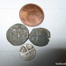 Monedas antiguas: LOTE MIXTO DE 3 MINI MONEDAS 1 PLATA 2 BRONCE .HABSBURG MONARHIE. APROX. 1100. TERRITORIO HÚNGARO. Lote 254324600