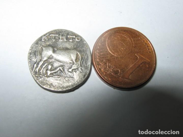 ILLYRIA-APOLLONIA, AR DRACHME, CA 200-300 BC BALKAN SERBIEN MAZEDONIEN. (Numismática - Periodo Antiguo - Otras)